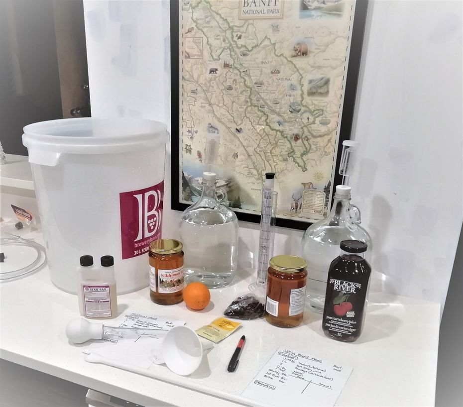 equipment for making mead