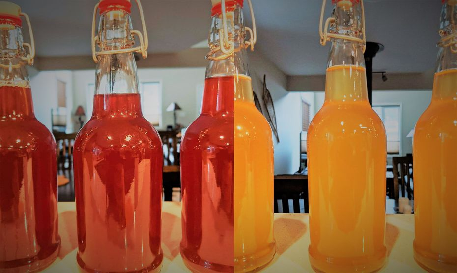 depending on the process and spices, your mead can have a variety of colours
