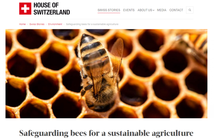 Safeguarding bees for a sustainable agriculture